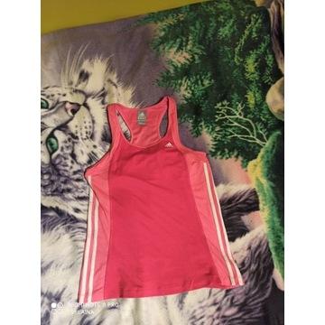 Koszulka bokserka adidas róż m 38 40