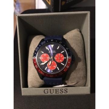 Zegarek Guess W1108G1 Mens Sport Blue Prezent