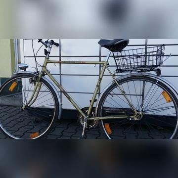 niemiecki zielony rower FÜRSTENKRONE leichtlauf