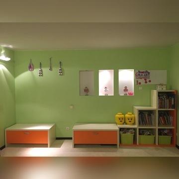 Komplet mebli pokój dzieci na wymiar KOMANDOR