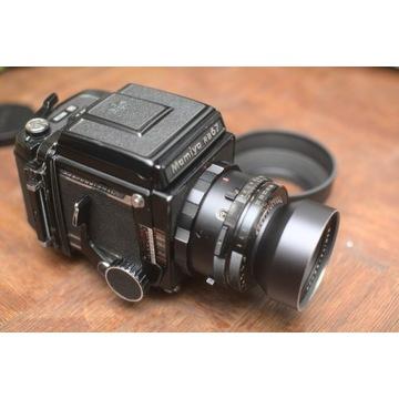Mamiya RB67 + Sekor 180mm f/4.5 średni format anal