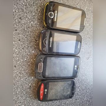 Zestaw telefonów dotykowych