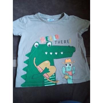 Koszulka niemowlęca dla chłopca rozmiar 92