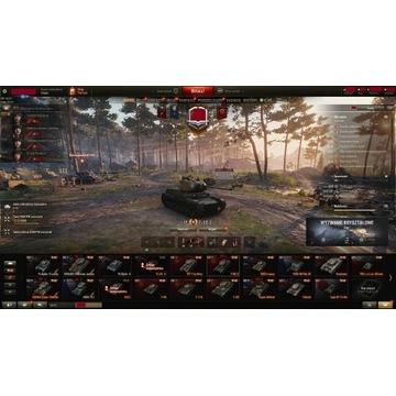 Konto World of Tanks ~6500 obligacji t-50-2 ...