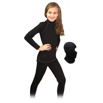 Czarna Bielizna termoaktywna 128 cm - 134 cm