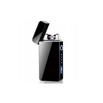 Zapalniczka USB plazmowa czarna super prezent