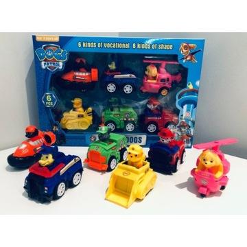PSI PATROL 6 aut z napędem figurki NOWE wys.24h