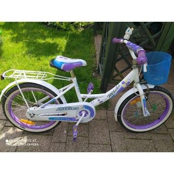 Rower dziecięcy dziewczynka OKAZJA! Koła 18