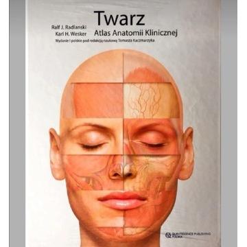 Twarz. Atlas anatomii klinicznej