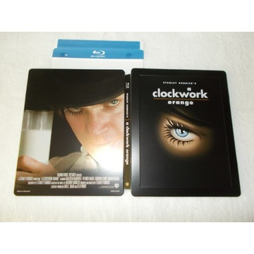 blu ray CLOCKWORK ORANGE steelbook