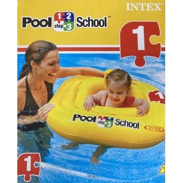 Koło do pływania intex step 1 pool school