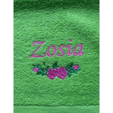Ręcznik 30x50 z haftem imienia Zosia upominek