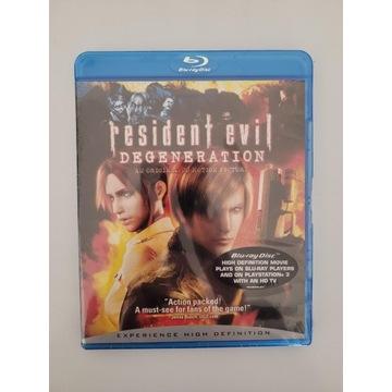 Resident Evil: Degeneracja BLU-RAY PL nowa w folii