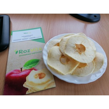 chipsy jabłkowe, suszone jabłka, 1 kg
