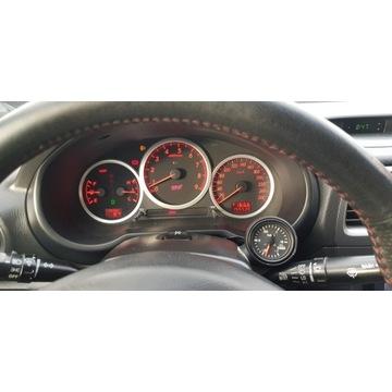 Zegar doładowania turbo LAMCO, Impreza WRX STI