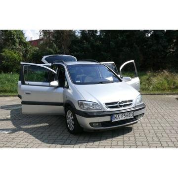 Opel Zafira 1.8 Benzyna, klimatronik, 7os. 205kkm