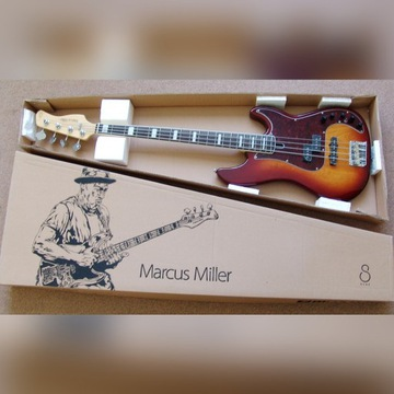 Gitara basowa Marcus Miller P7, futerał JAK NOWA!