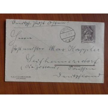Aneksja 1939r list z polską frankaturą!!