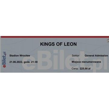 Bilet Kings of Leon Wrocław 21 czerwca 2022 płyta