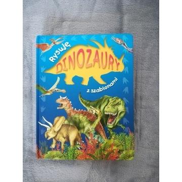 Dinozaury z szablonami