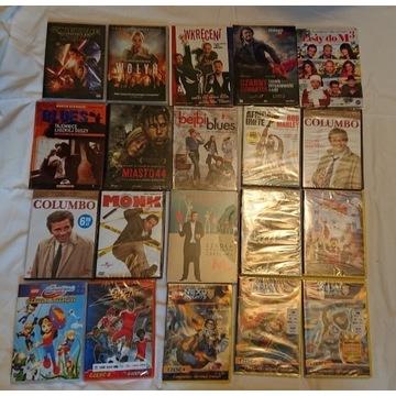Star Wars i inne zestaw 20 dvd