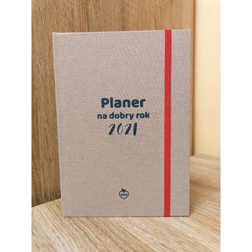 Planer na dobry rok 2021 kalendarz terminarz notes