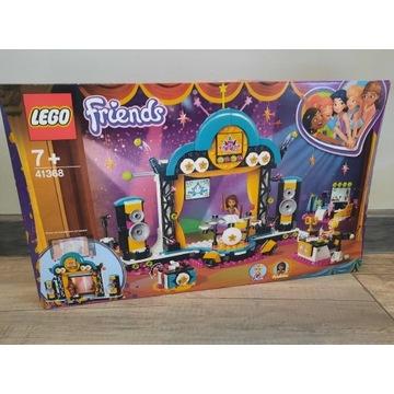 Klocki LEGO Friends Konkurs talentów Andrei 41368