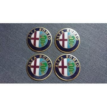 Emblemt dekielki felgi aluminiowe Alfa Romeo Nowe
