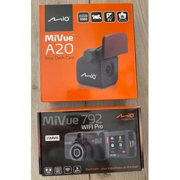 MIO MiVue 792 WiFi Pro Kamera Tylna MiVue A20 BDB!