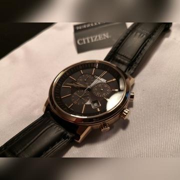 zegarek CITIZEN AT0496-07E (szafir i eco-drive)
