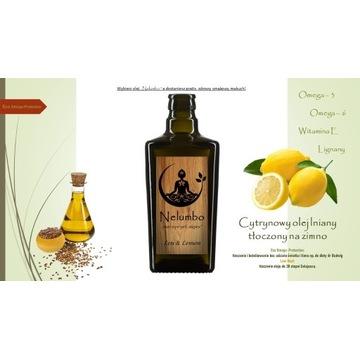 Cytrynowy olej lniany  PROMOCJA!