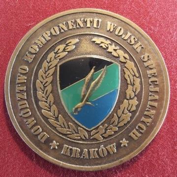 Coin Medal Komponent Wojsk Specjalnych Kraków