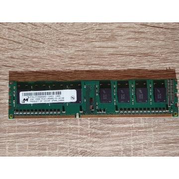 Pamięć RAM 2GB  DDR3 1333 MHz MICRON PC3-10600U