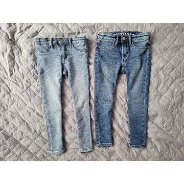 H&M Super Soft Skinny Fit Jeans. Rozmiar 104