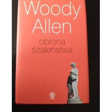 """Książka """" Obrona szaleństwa """" Woody Allen"""