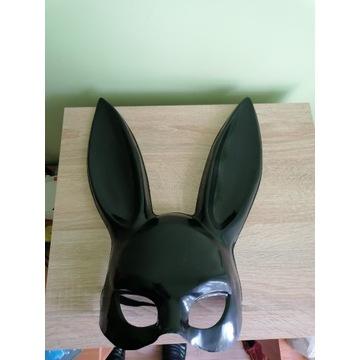 Maska królik Plastikowa