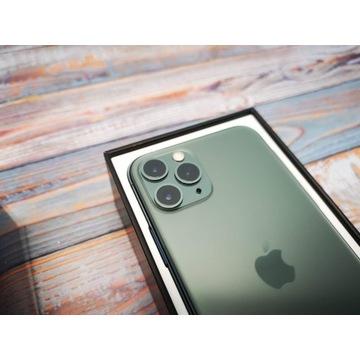 iPhone 11 Pro Midnight Green idealny bat.j.nowa