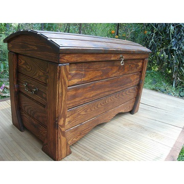 Kufer skrzynia drewniana