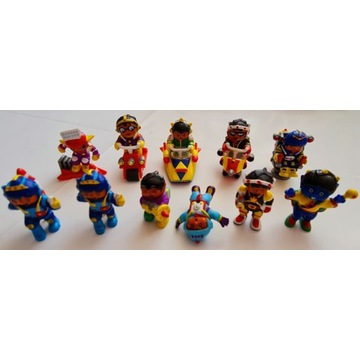 Figurki Haribo Kosmonauci Cena za zestaw 11 sztuk.