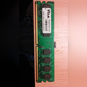 PAMIĘĆ RAM 1GB DDR2 DIMM DO PC PC2-6400