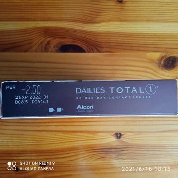 Alcon Dailies Total 1, 90 szt.  - 2,50