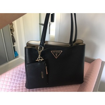 Nowa oryginalna czarna torebka Guess