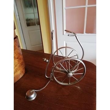 Ciekawy stojak rower