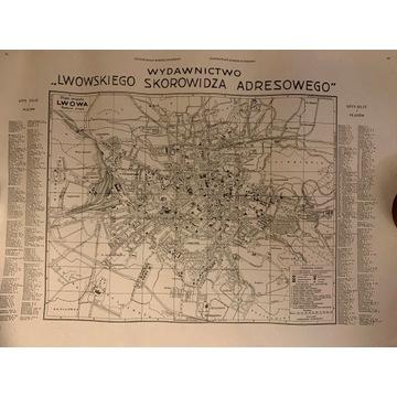 Plan Miasta Lwowa 1930 reprint