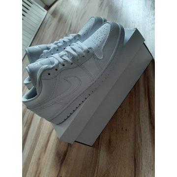 Nowe buty Air Jordan 1 Low white