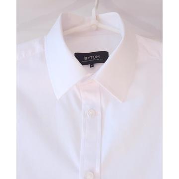 Koszula biała marki BYTOM taliowana rozm. 38 S