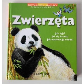 Zwierzęta, encyklopedia dla dzieci LAROUSSE