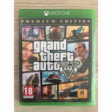 Grand Theft Auto V Premium Edition PL XONE FOLIA