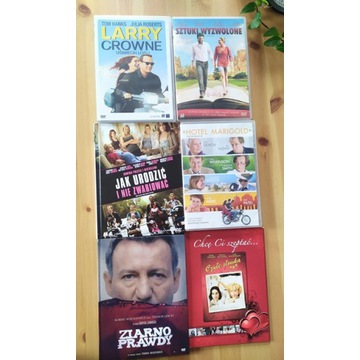 Zestaw filmów DVD - 6 szt