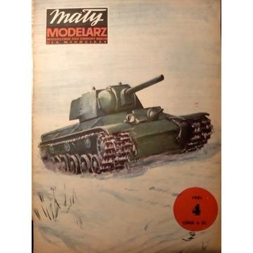 KW 1 Radziecki czołg ciężki [MM 4/1981]